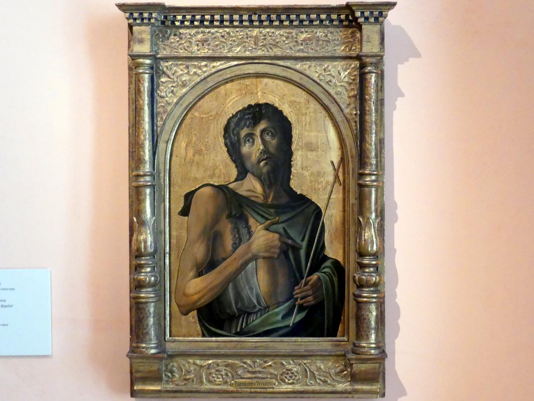 Alvise Vivarini: Johannes der Täufer, um 1475