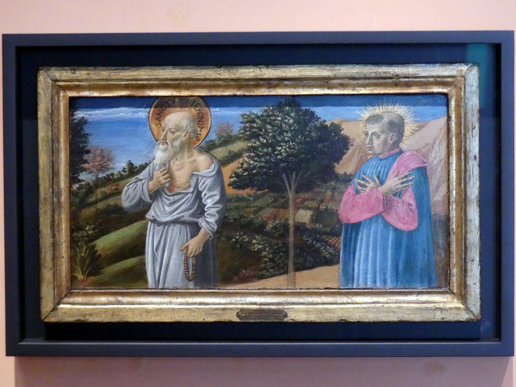 Benozzo Gozzoli: Der Heilige Hieronymus und der selige Bartolo Buompedoni von San Gimignano, Um 1464 - 1467