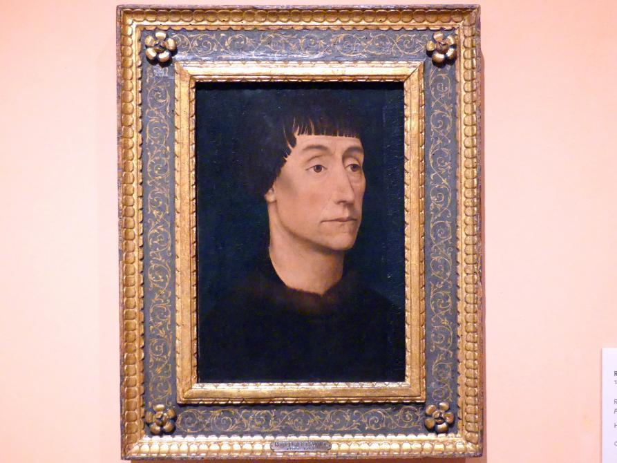 Rogier van der Weyden: Porträt eines Mannes, um 1464