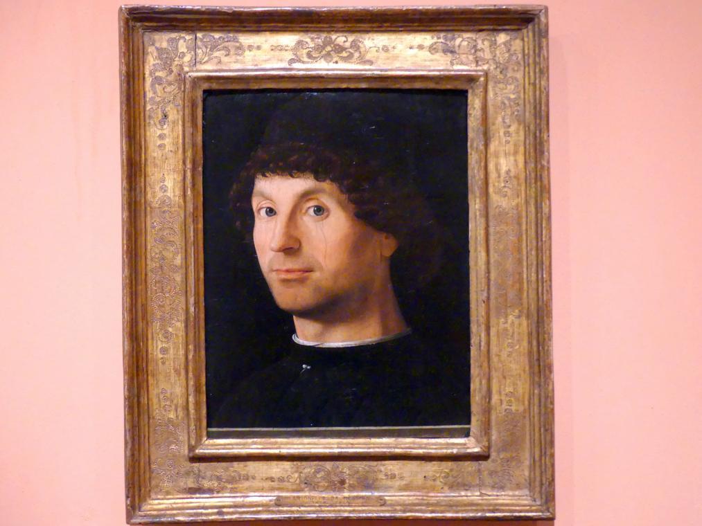 Antonello da Messina: Porträt eines Mannes, um 1472 - 1476