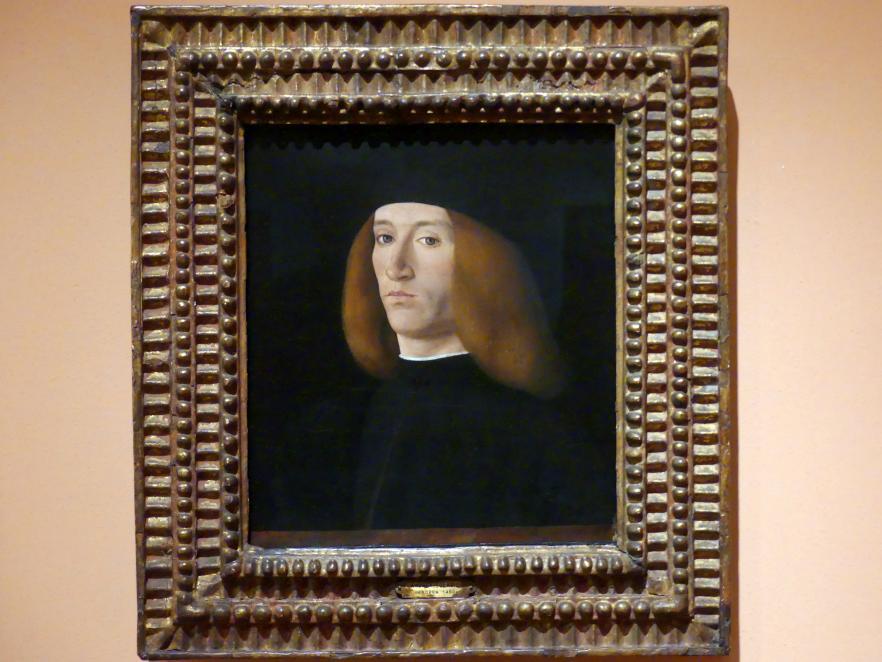 Andrea Solari: Porträt eines jungen Mannes, um 1490 - 1500