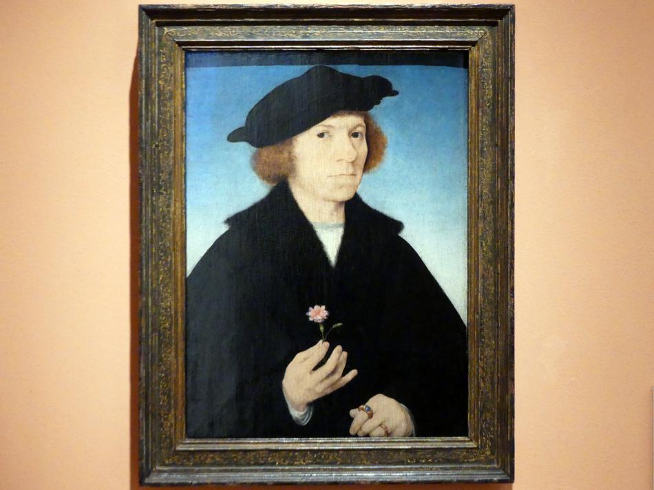 Joos van Cleve (Joos van der Beke): Selbstporträt, um 1519