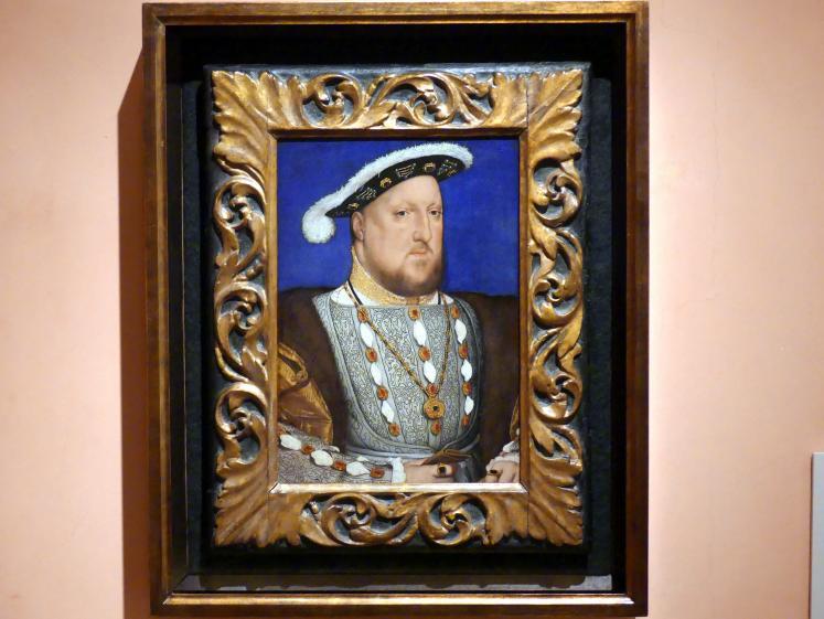Hans Holbein der Jüngere: Porträt König Heinrich VIII. von England, um 1537
