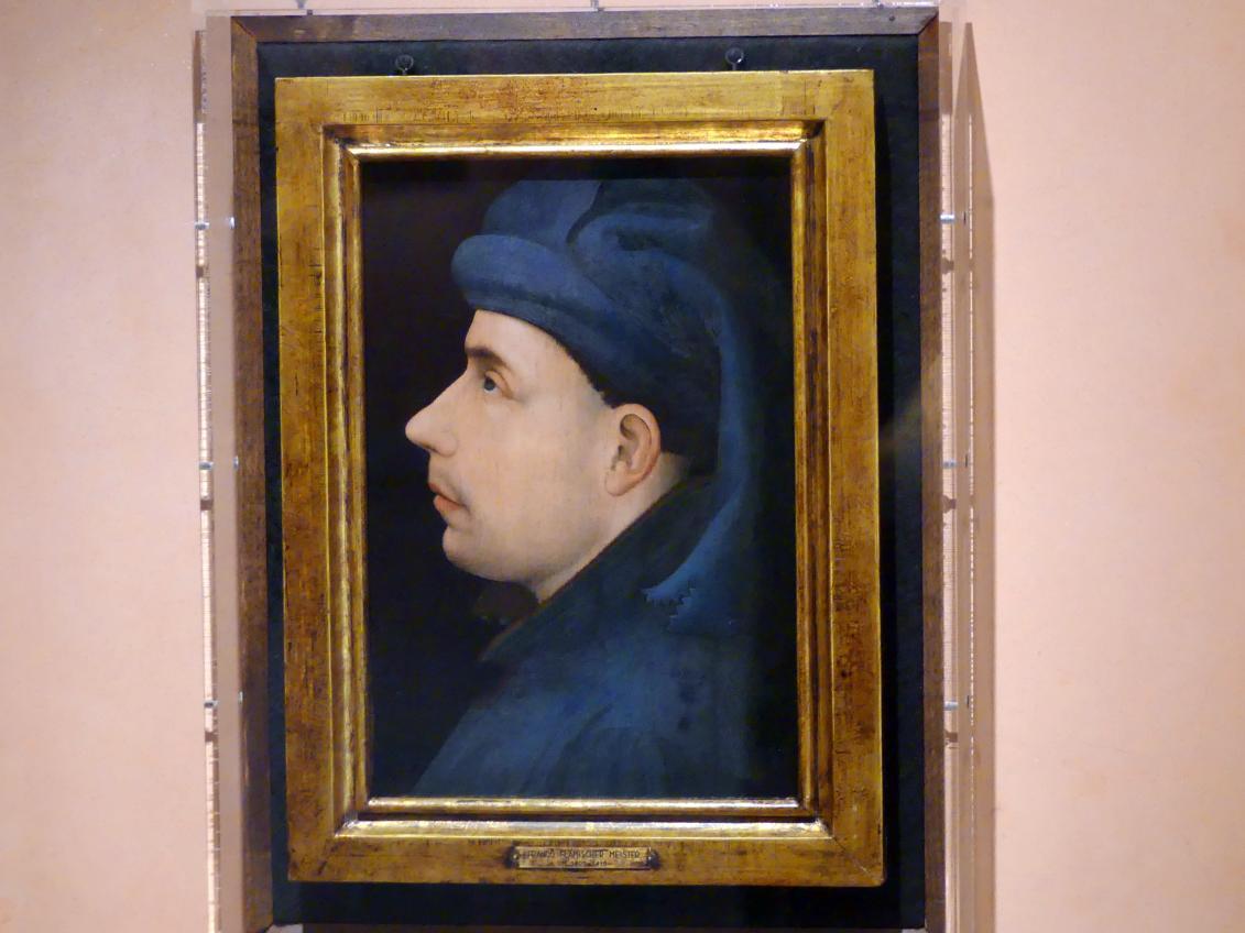 Posthumes Porträt des Wenzel I. von Luxemburg, Herzog von Brabant, um 1400 - 1415