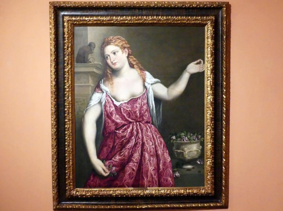 Paris Bordone: Porträt einer jungen Frau, um 1543 - 1550
