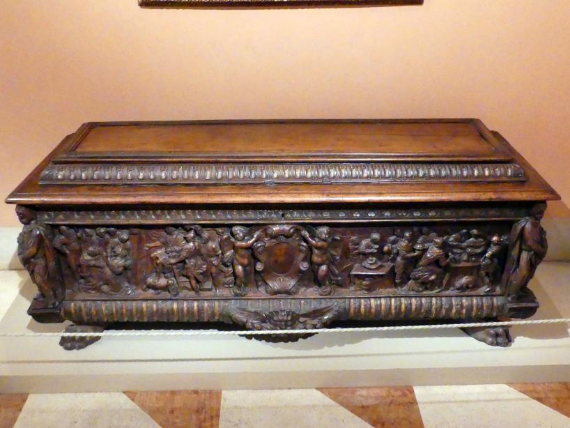 Truhe, um 1550 - 1595