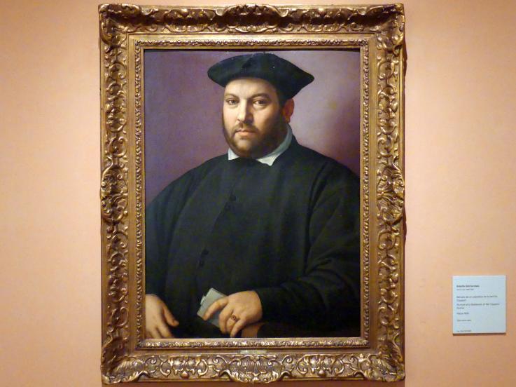 Ridolfo Ghirlandaio: Porträt eines Edelmannes aus der Familie Capponi, um 1555