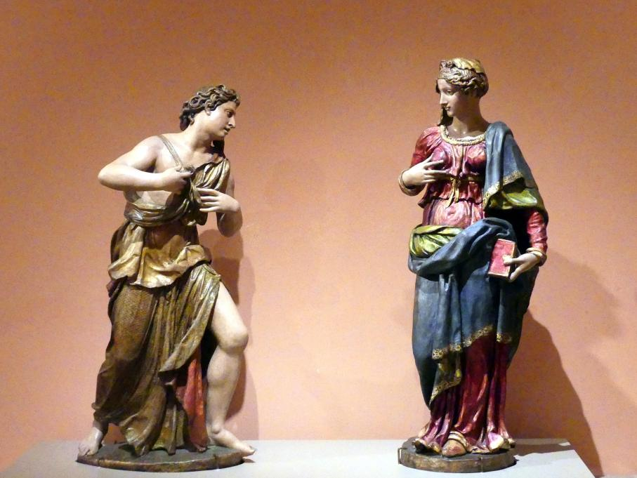 Jacopo Sansovino (Jacopo Tatti): Verkündigungsgruppe, um 1535