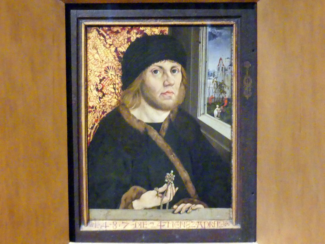 Wolfgang Beurer: Porträt des Johann von Rückingen, 1487