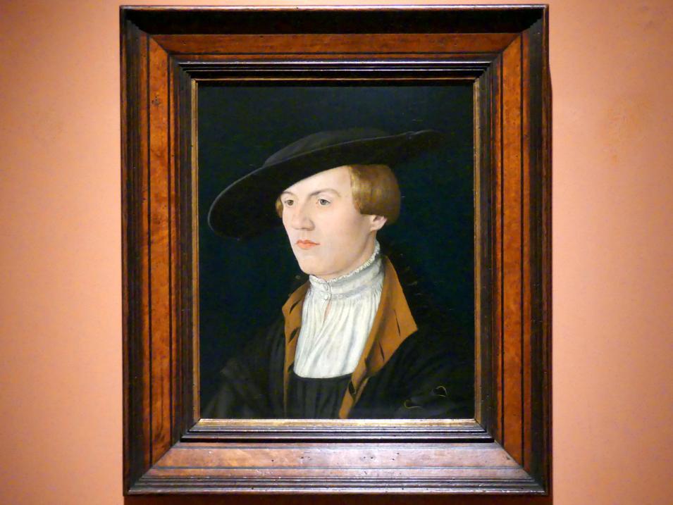 Porträt eines jungen Mannes, um 1525 - 1530