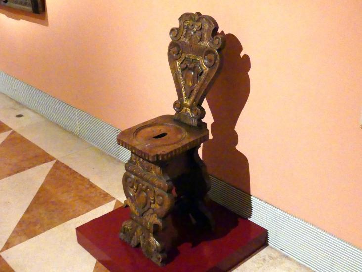 Sgabello (italienischer Hocker), um 1500