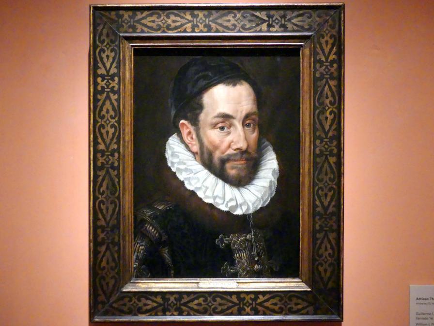 Adriaen Thomasz Key: Wilhelm I. von Oranien-Nassau (der Schweiger), 1579