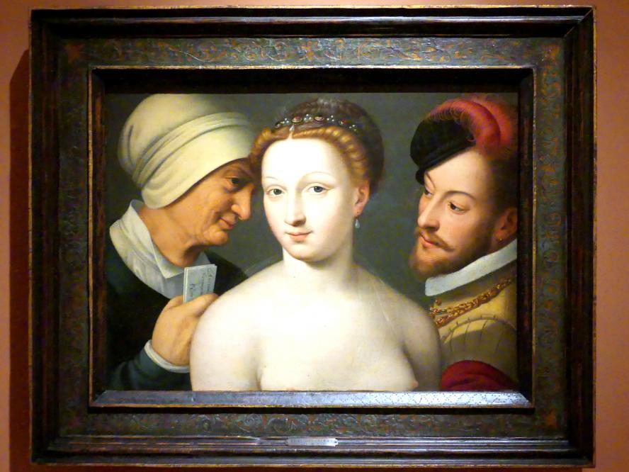 François Clouet: Der Liebesbrief, um 1570