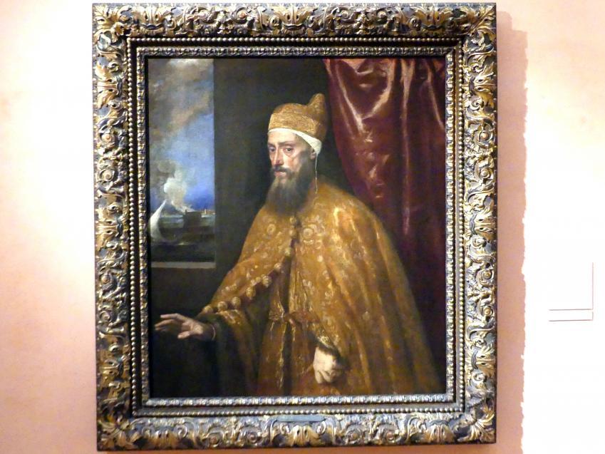 Tiziano Vecellio (Tizian): Porträt des Dogen Francesco Venier, um 1554 - 1556