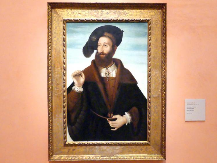Bartolomeo Veneto: Porträt eines Mannes, um 1525 - 1530