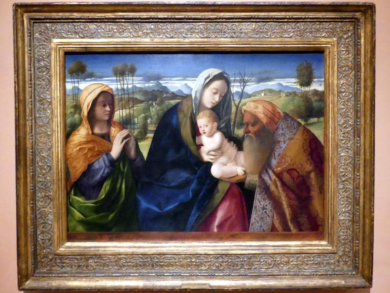 Giovanni Bellini: Lobgesang des Simeon (Nunc dimittis), um 1505 - 1510