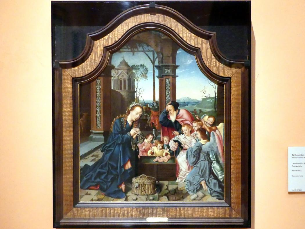 Bartholomäus Bruyn der Ältere: Christi Geburt, um 1520