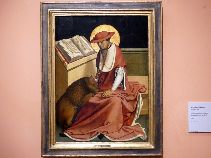 Meister von Großgmain: Heiliger Hieronymus als Kardinal, 1498