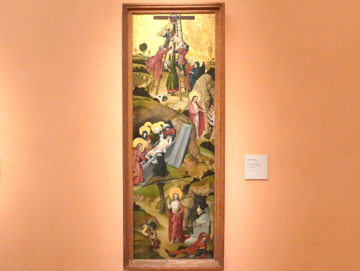 Vier Passionsszenen, um 1495 - 1500