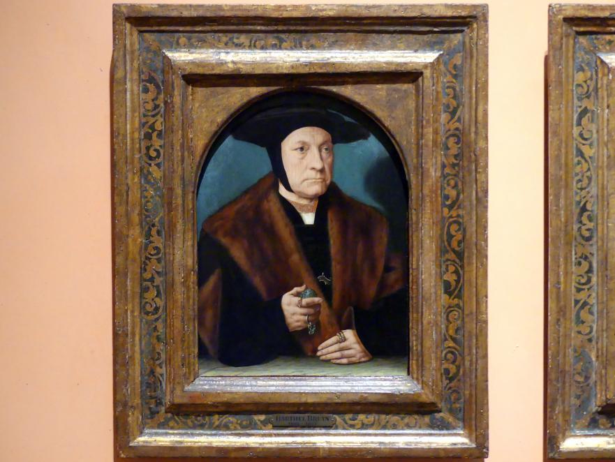 Bartholomäus Bruyn der Ältere: Porträt eines Mannes aus der Familie Weinsberg, um 1538 - 1539