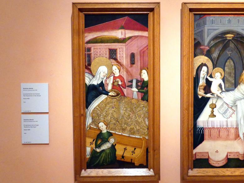 Geburt Mariens, um 1430