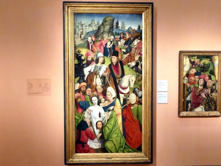 Derick Baegert: Kreuztragung Christi, 1477 - 1478