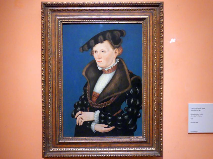 Lucas Cranach der Jüngere: Porträt einer Frau, 1539