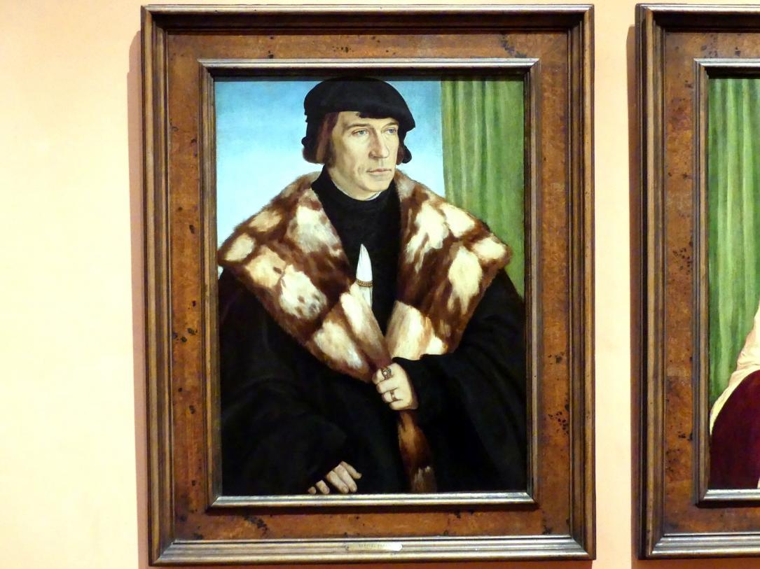 Barthel Beham: Porträt von Ruprecht Stüpf, 1528