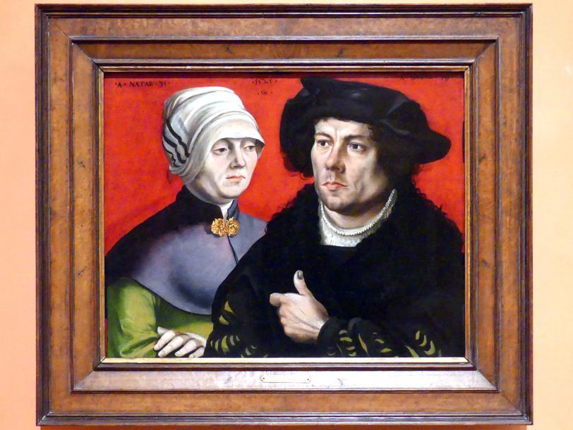 Gabriel Zehender: Porträt eines Ehepaares, 1525