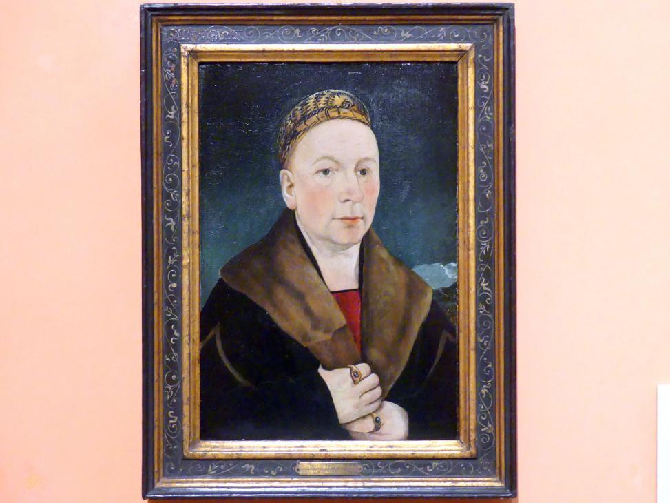 Martin Schaffner: Porträt eines Mannes (Sebastian Gessler ?), um 1515