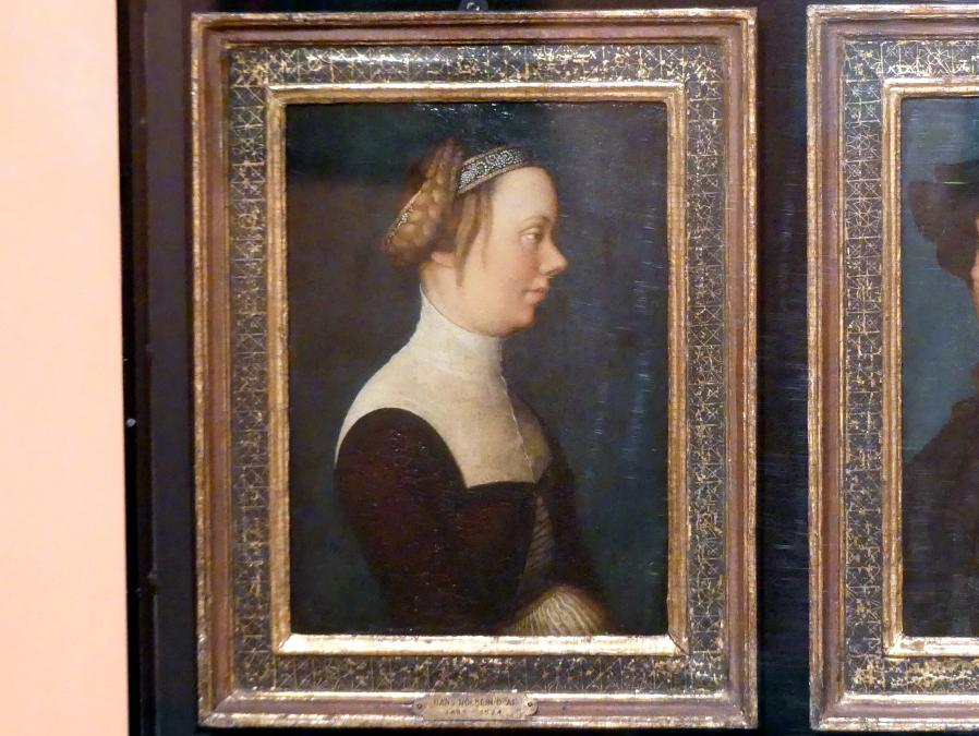 Hans Holbein der Ältere: Porträt einer Frau, Um 1518 - 1520