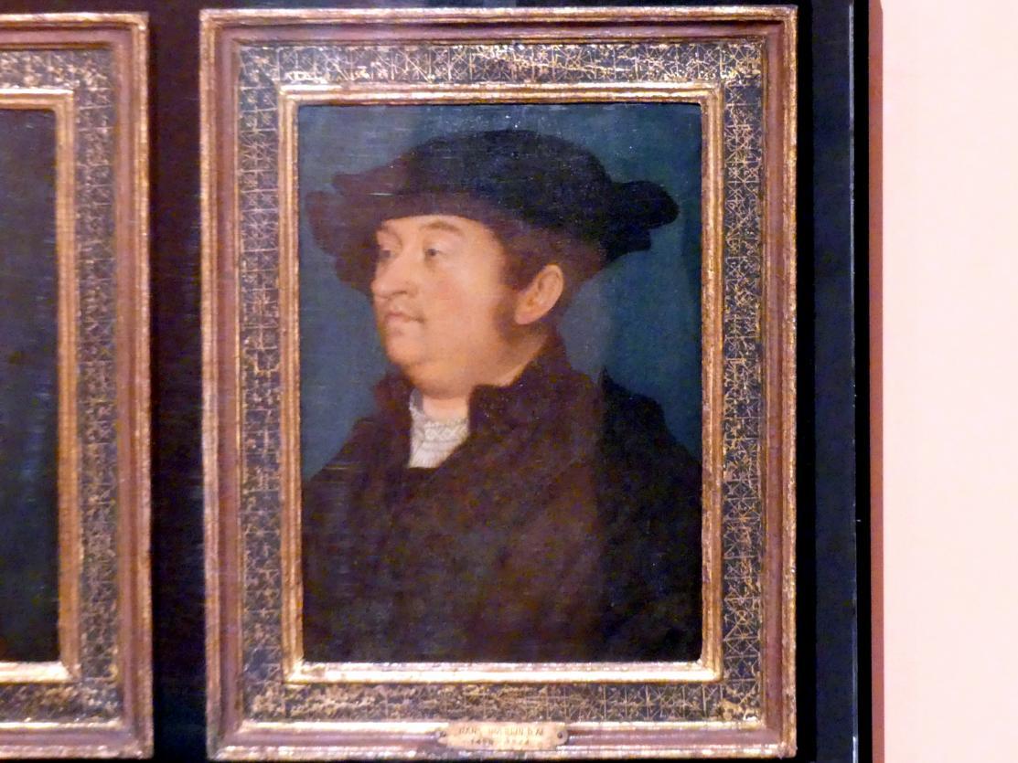 Hans Holbein der Ältere: Porträt eines Mannes, Um 1518 - 1520