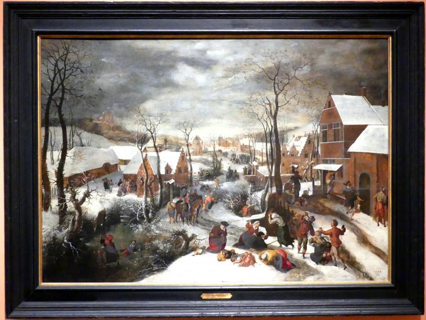 Lucas van Valckenborch: Kindermord in Bethlehem, um 1586