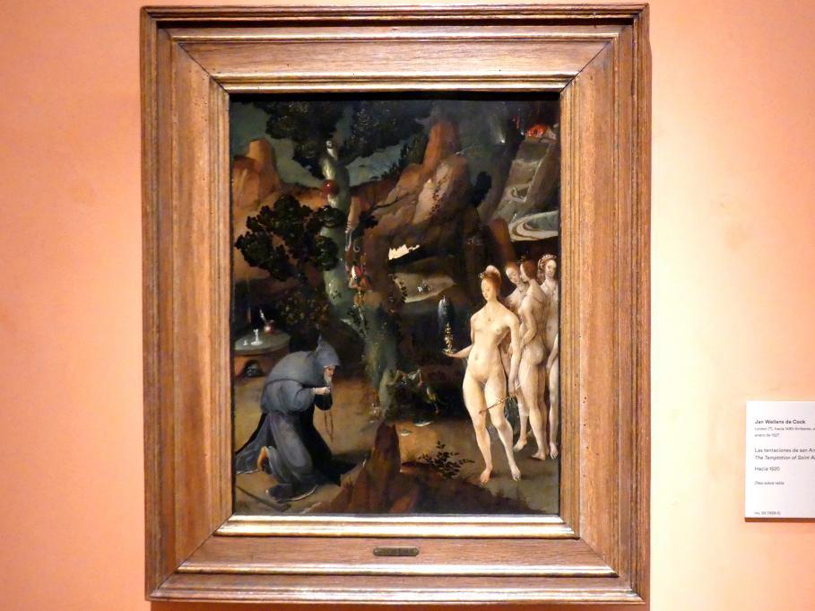 Jan Wellens de Cock: Die Versuchung des hl. Antonius, um 1520