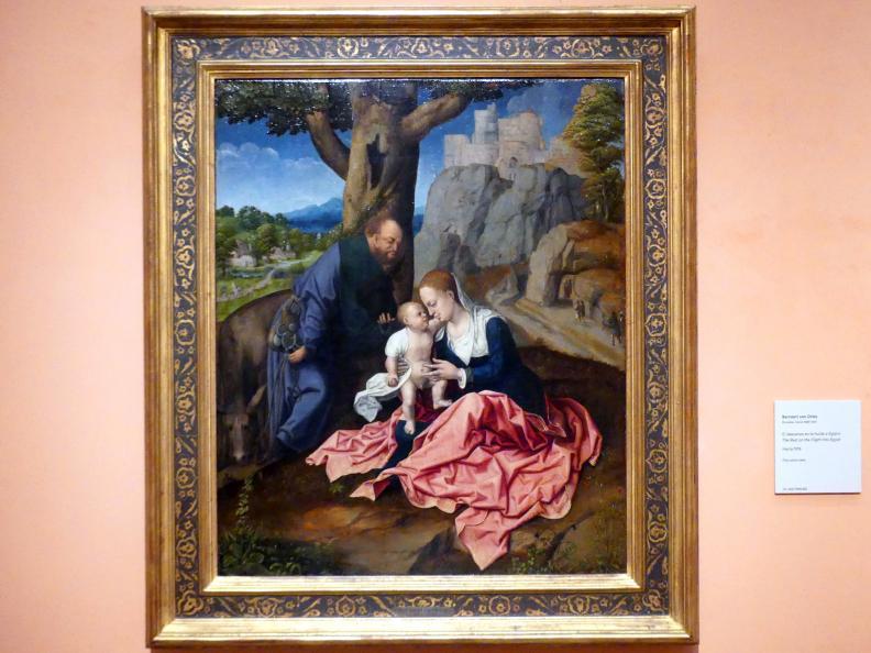 Bernard van Orley: Ruhe auf der Flucht, um 1515