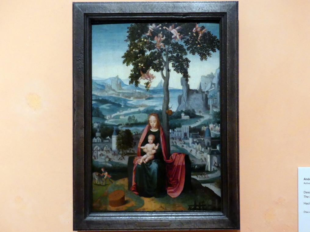 Ruhe auf der Flucht, um 1540