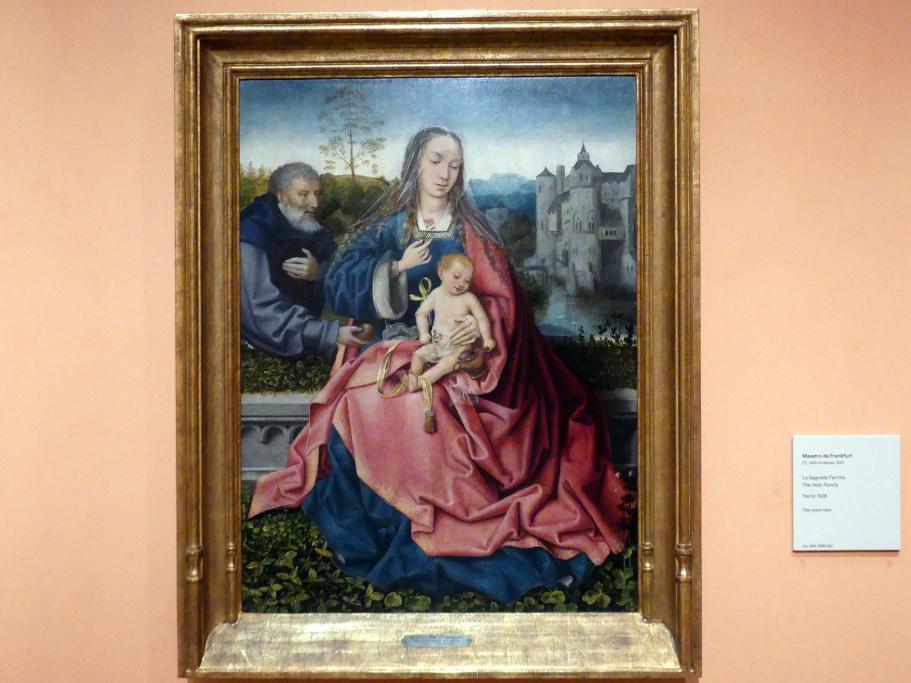 Meister von Frankfurt: Die Heilige Familie, Um 1508