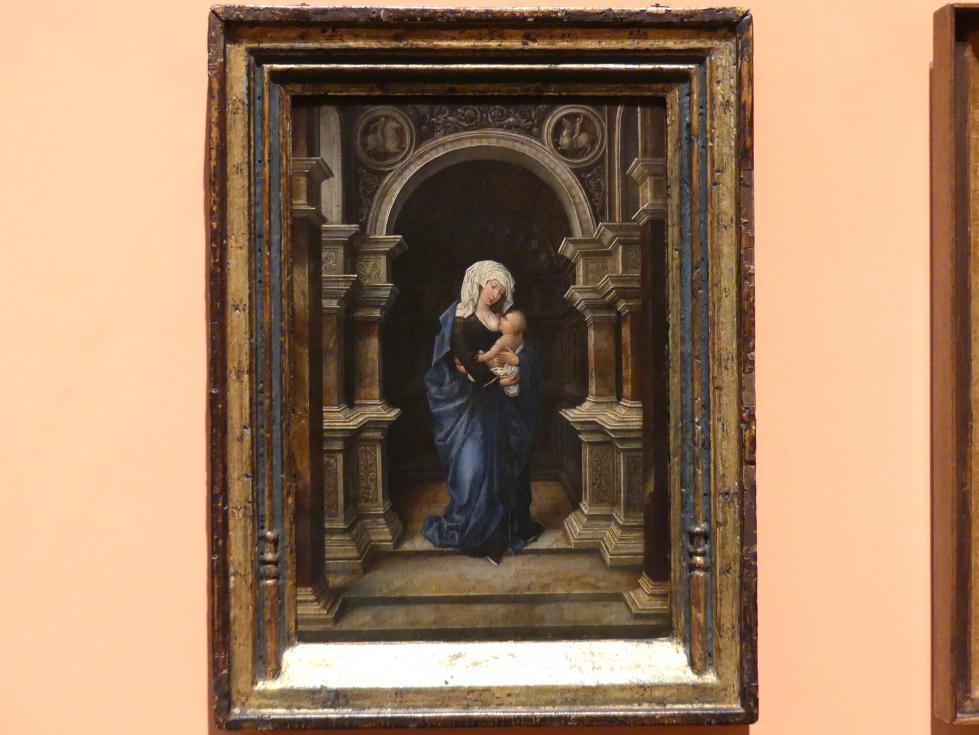 Stehende Muttergottes das Kind stillend, um 1530