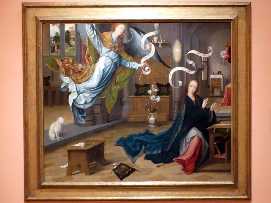 Jan de Beer: Verkündigung an Maria, um 1520