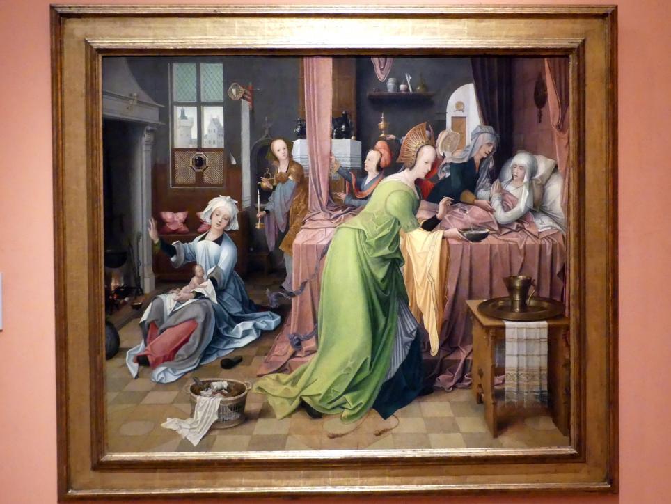 Jan de Beer: Mariä Geburt, um 1520