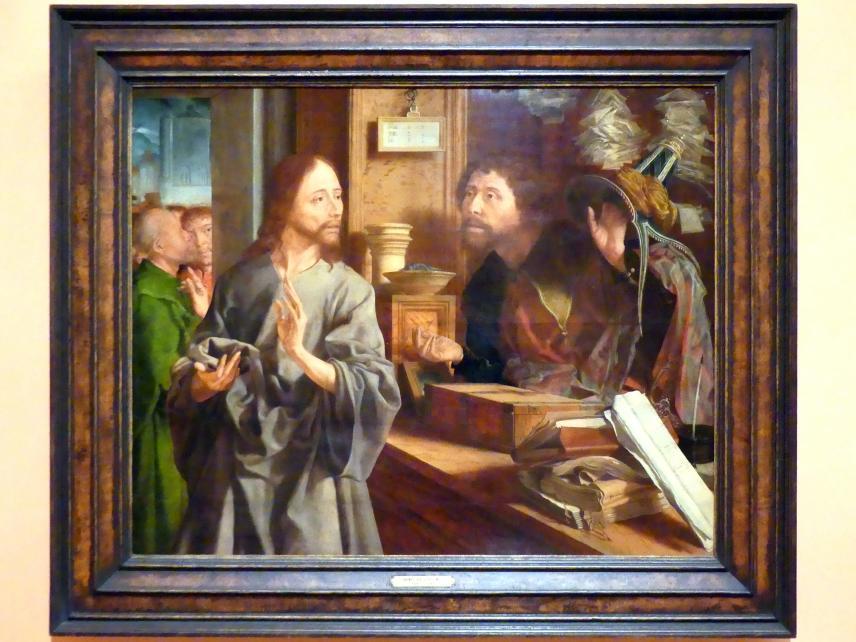 Marinus van Reymerswaele: Berufung des Hl. Matthäus, um 1530