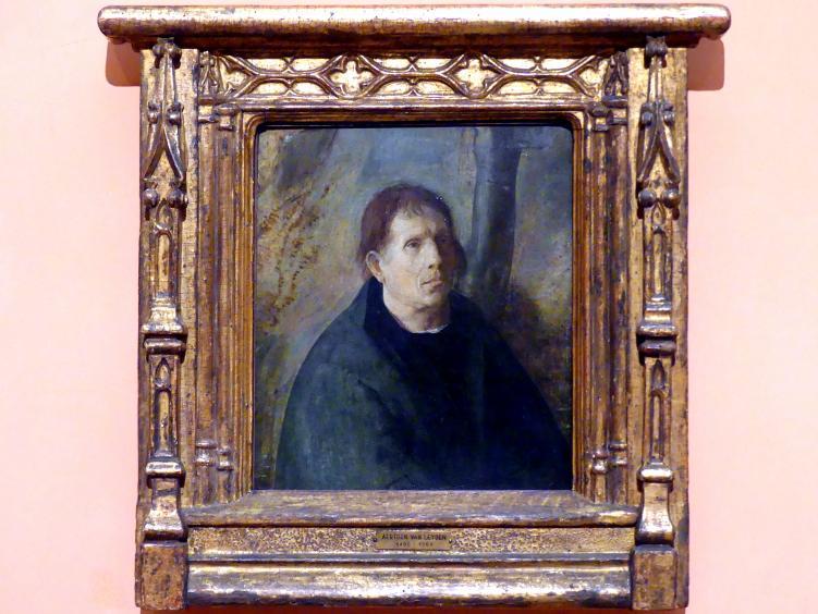 Aertgen van Leyden: Porträt eines Stifters, um 1530