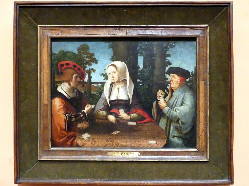 Lucas van Leyden: Die Kartenspieler, um 1520