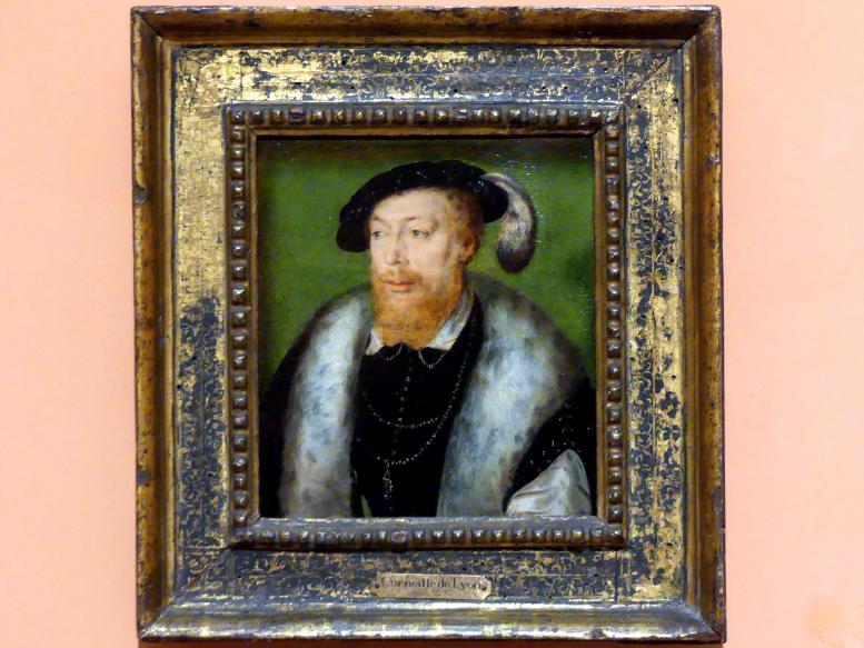 Corneille de Lyon: Porträt von Robert IV. von der Mark, Herzog von Bouillon, um 1550