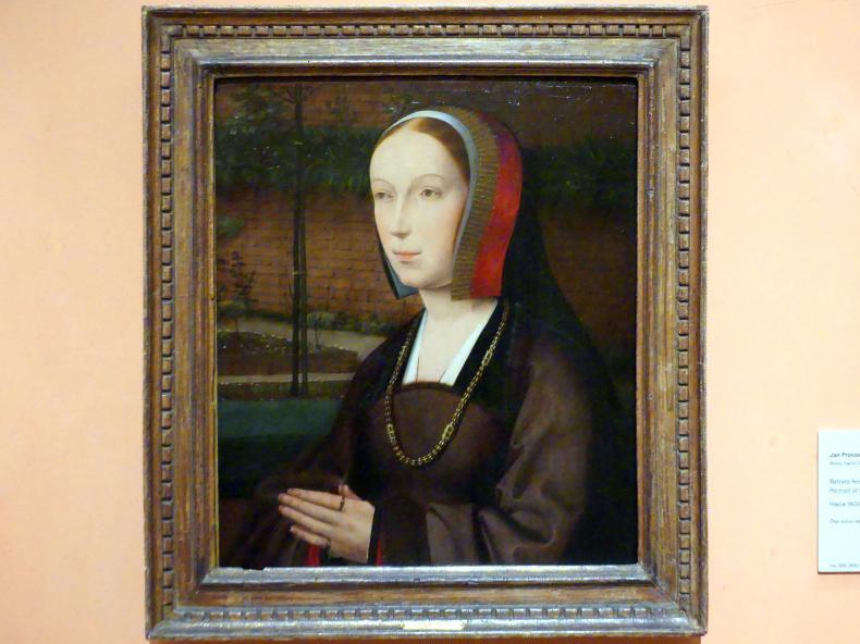 Jan Provost: Porträt einer Stifterin, um 1505