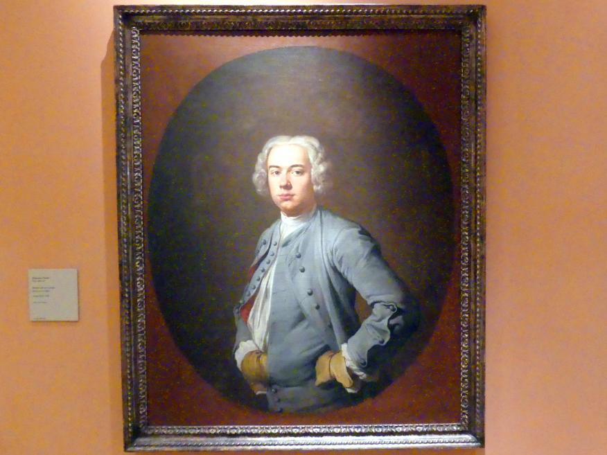 Giacomo Ceruti: Porträt eines Mannes, um 1740 - 1742