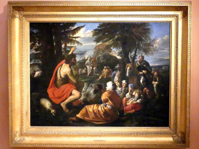 Pier Francesco Mola: Johannes der Täufer predigt in der Wüste, Um 1650 - 1655