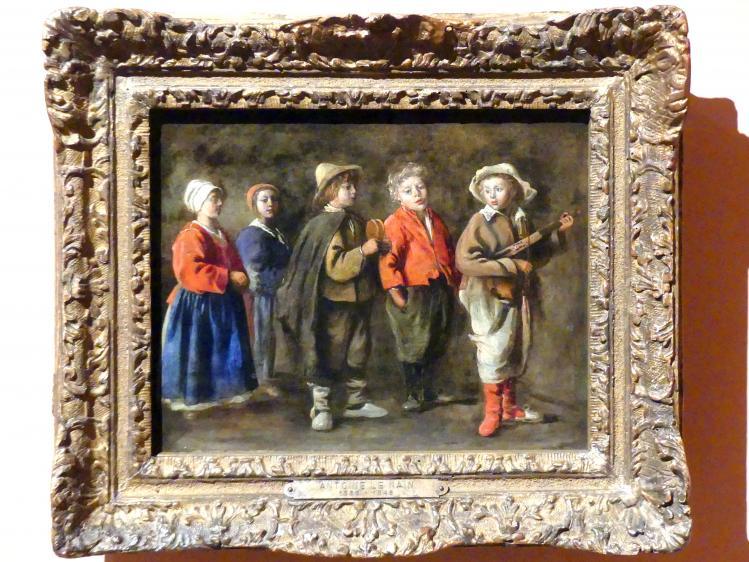 Antoine Le Nain: Die jungen Musiker, um 1640