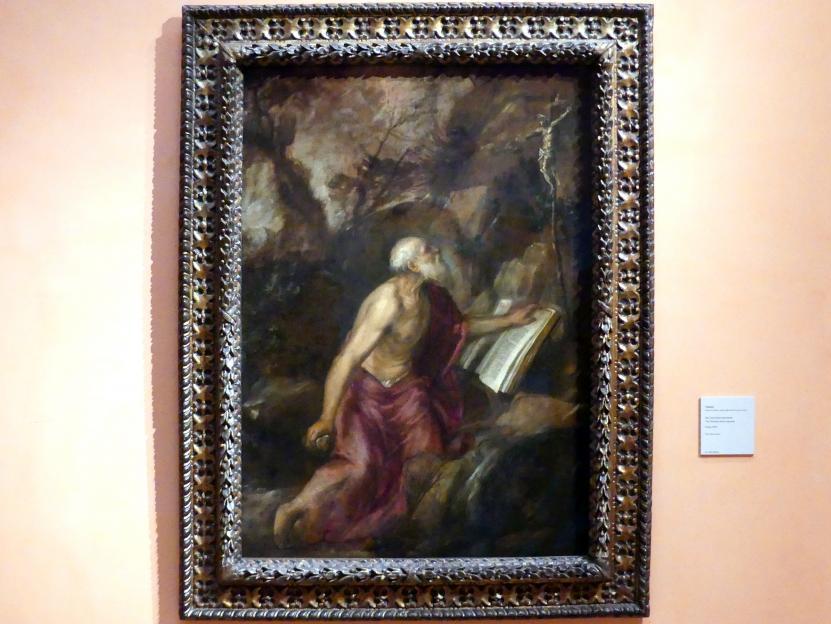 Tiziano Vecellio (Tizian): Der büßende hl. Hieronymus, um 1575