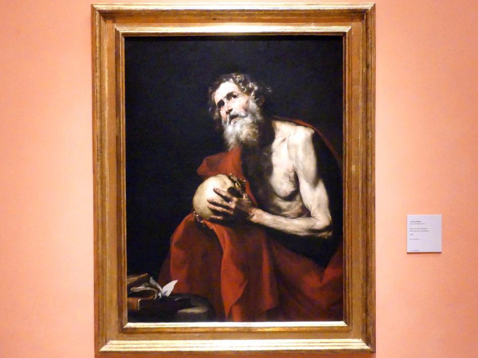 Jusepe de Ribera: Der büßende hl. Hieronymus, 1634